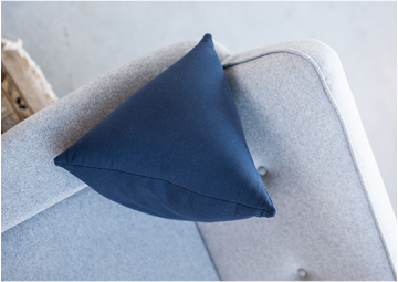 Versatile Triangle Cushion